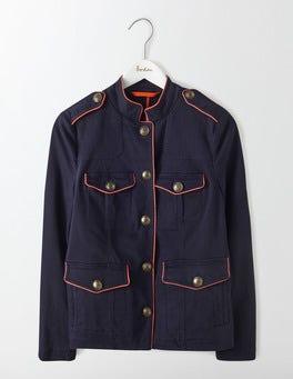 Navy Florence Jacket