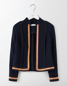 Navy Laura Military Jacket