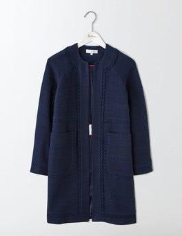 Navy Jeanne Coat