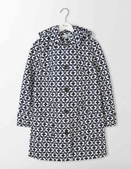 Ivory/Navy Linked Floral Anna Mac