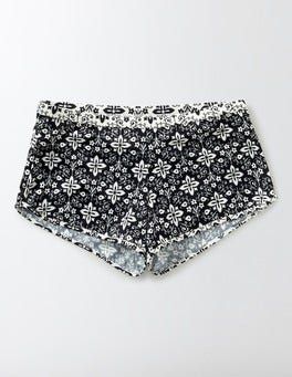 Black Collage Swim Shorts