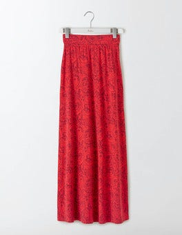 Summer Pudding Mono Paisley Jersey Maxi Skirt