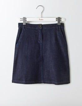Indigo Denim Naomi A-Line Skirt