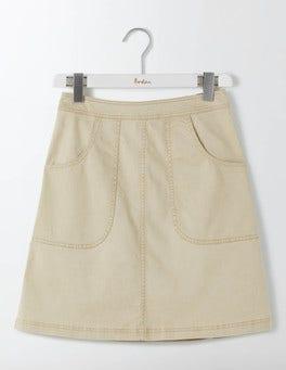 Sand Rachel Chino Skirt