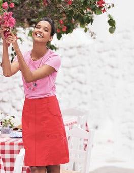 Rachel Chino Skirt
