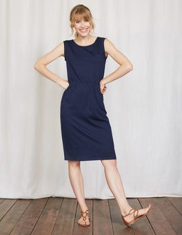 Navy Blackberry Dress