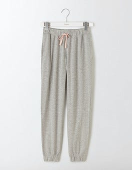 Grey Marl Off Duty Drapey Jogger