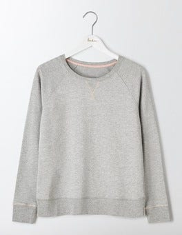 Grey Marl Off Duty Sweatshirt