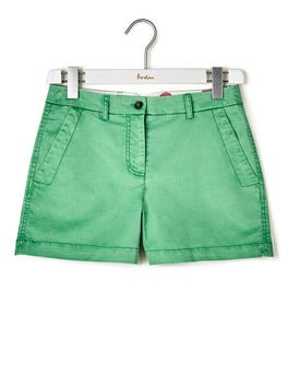 Wasabi Green Rachel Chino Shorts