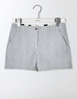 Ticking Stripe Rachel Chino Shorts