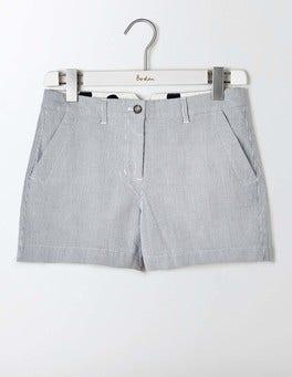 Ticking Stripe Rachel Chino Shorts