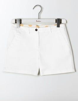White Rachel Chino Shorts