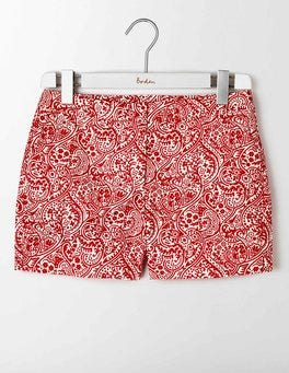 Strawberry Sundae Paisley Textured Richmond Shorts