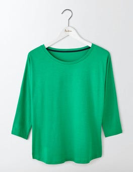 Meadow Green Supersoft Oversized Top