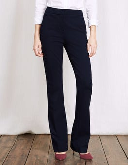 Navy Hampshire Bootcut Trousers