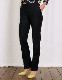 Black Richmond Trousers
