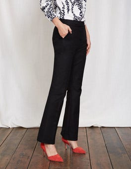 Black Richmond Bootcut Trousers