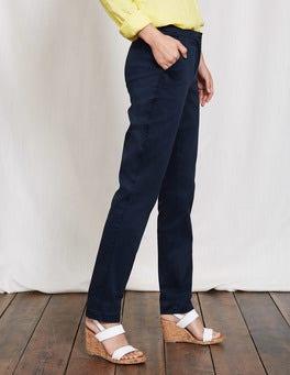 Navy Rachel Chino Trousers