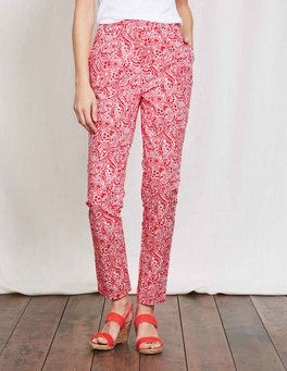 Strawberry Sundae Paisley Al Fresco 7/8 Trousers