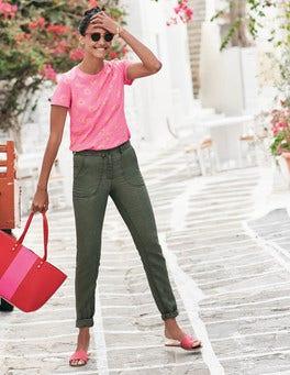 Coralie Linen Trousers