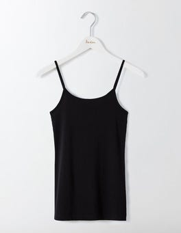 Black Plain Cami