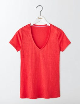 Strawberry Sundae Lightweight V Neck Tee