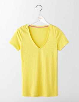Pineapple Lightweight V Neck Tee