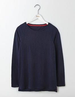Navy Lightweight Baseball Tee