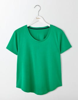 Meadow Green Supersoft Swing Tee