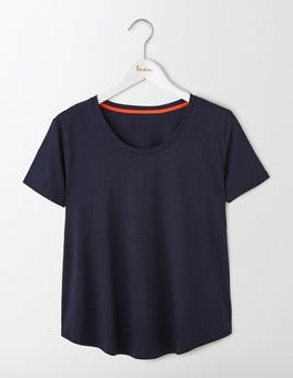 Navy Supersoft Swing Tee