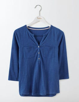 Santorini Blue Easy Jersey Shirt