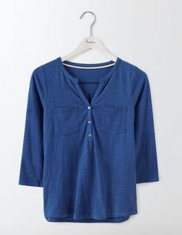 Santorini Blue Easy Jersey Shirt