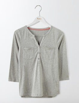Grey Marl Easy Jersey Shirt