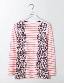 Pink Fizz Floral Vine Make A Statement Breton