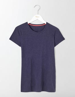 Navy Lightweight Crew Tee
