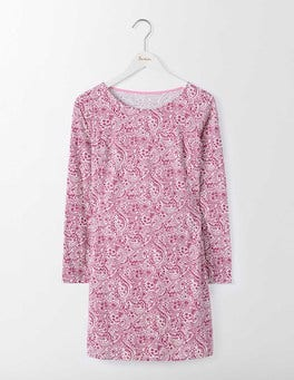 Summer Pudding Mono Paisley Cleo Jersey Tunic