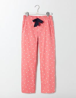 Watermelon/Ivory Spot Suzie PJ Trousers