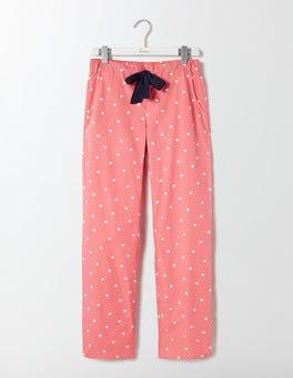 Watermelon/Ivory Spot Suzie PJ Trousers