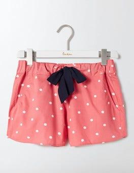 Watermelon/Ivory Spot Suzie PJ Shorts