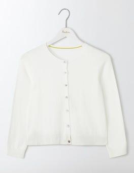 Ivory Favourite Crop Cardigan