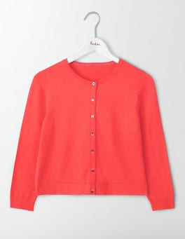 Strawberry Sundae Favourite Crop Cardigan