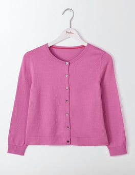 Lavender Rose Favourite Crop Cardigan