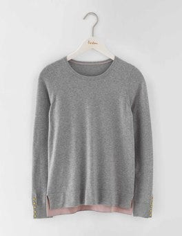 Grey Melange Tilly Sweater