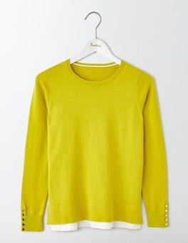 Mimosa Yellow Tilly Sweater