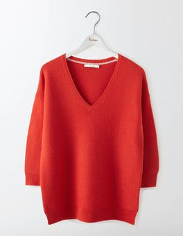 Snapdragon Clare V-Neck Jumper