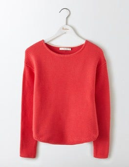 Strawberry Sundae Sera Boat Neck Jumper