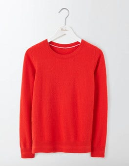 Snapdragon Cashmere Crew Neck Sweater