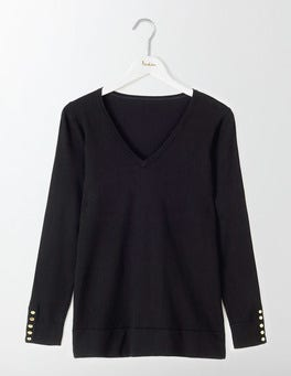 Tilly Relaxed V-Neck Jumper