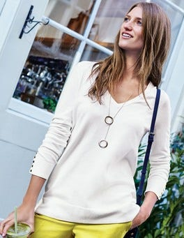 Tilly Relaxed V-Neck Sweater