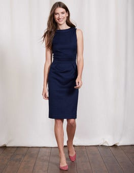 Navy Martha Dress